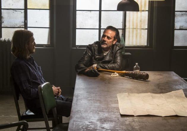 Negan Is Back! - The Walking Dead