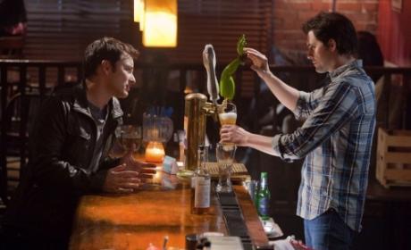 Awkward Bar Scene
