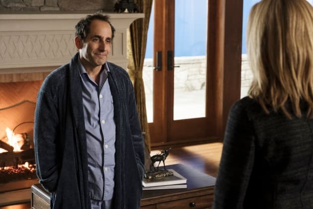 Snyder in his Switzerland Chalet - Colony Season 3 Episode 6
