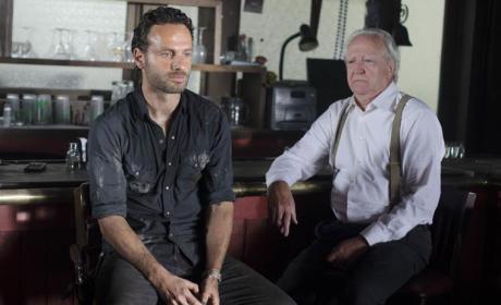 Rick and Hershel Photo