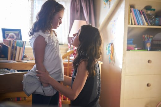 Kira and Sarah - Orphan Black Season 5 Episode 4