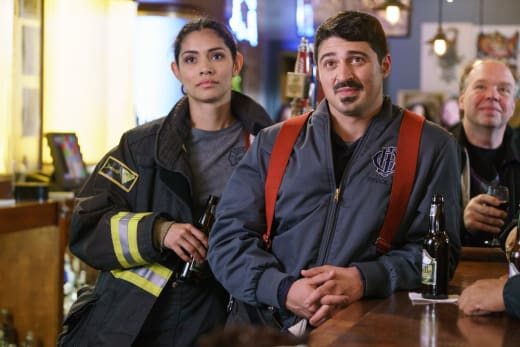 Celebrating At Molly's - Chicago Fire Season 5 Episode 8