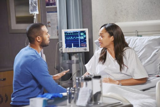 Lani Hears the Bad News - Days of Our Lives