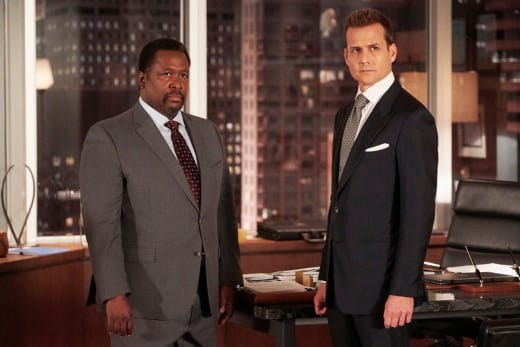 Robert and Zane - Suits