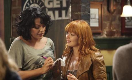 Callie and a Redhead