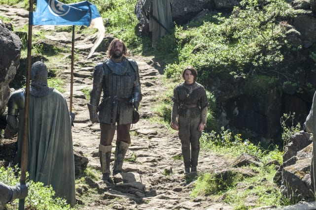 The Hound and Arya