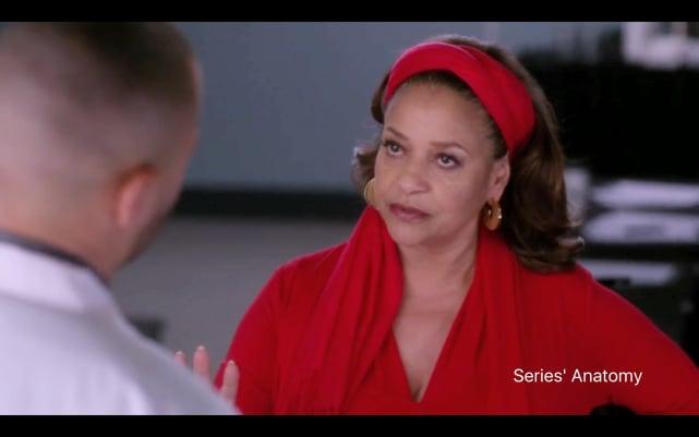 Catherine's Coverup - Grey's Anatomy