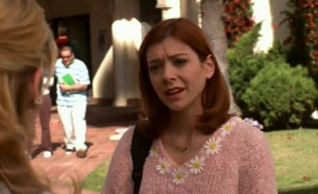 Willow's Pink Sweater - Buffy the Vampire Slayer Season 3 Episode 16