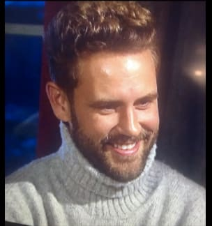 Nick's turtleneck
