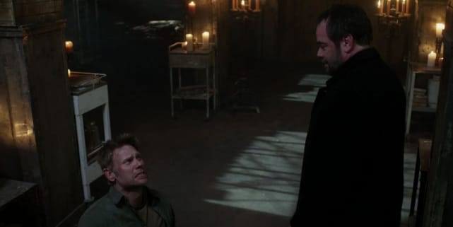 Crowley and Lucifer (Supernatural)