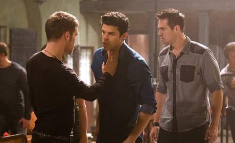 Angry Josh - The Originals Season 2 Episode 10
