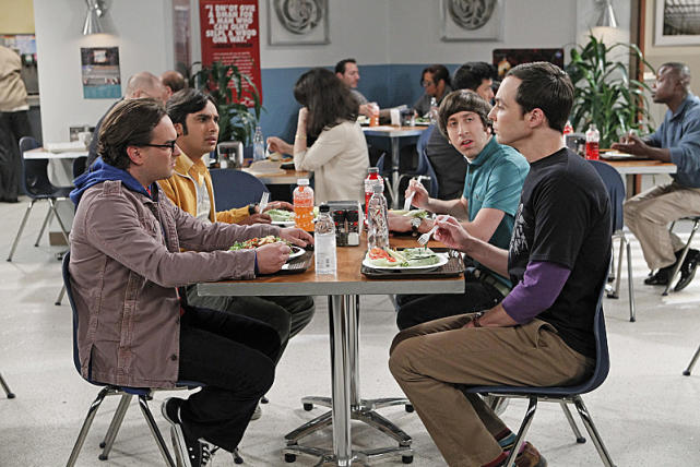 Lunch with the Big Bang Theory Bunch