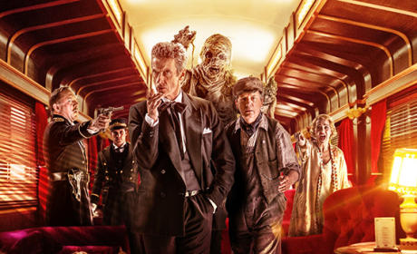 Mummy On a Train - Doctor Who
