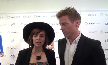 Barrett Foa and Renee Felice Smith Interview