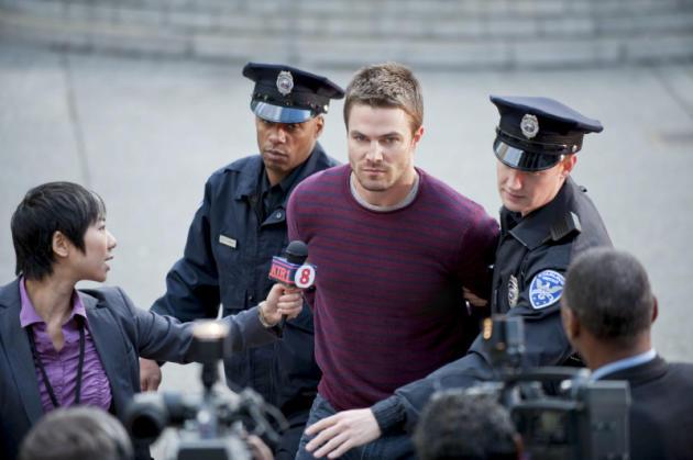 Oliver Arrested