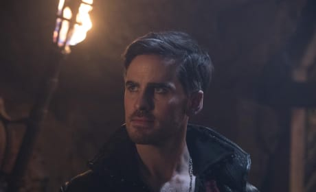 Wish Hook Saves His Daughter - Once Upon a Time Season 7 Episode 13