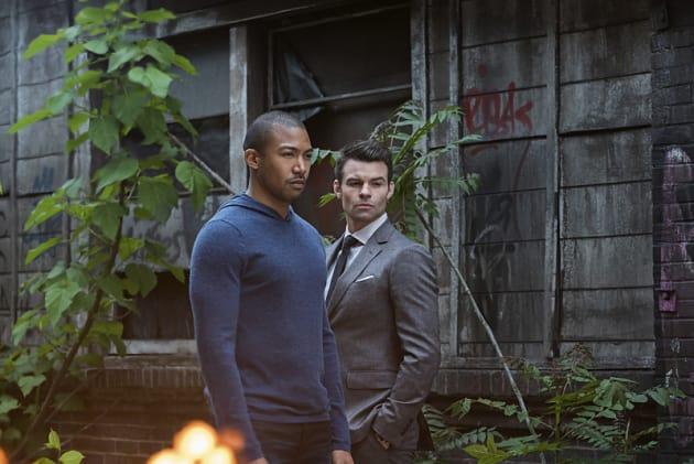 Marcel and Elijah - The Originals