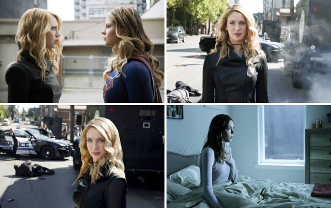 Supergirl vs psi supergirl season 3 episode 2