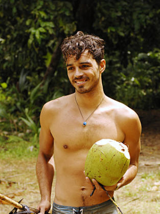 Ozzy Lusth on Survivor