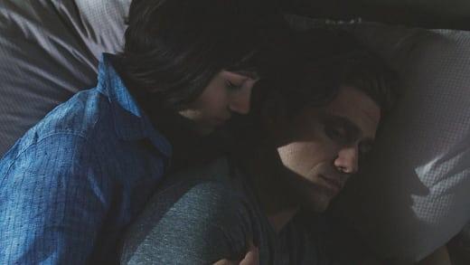 Snuggling - BrainDead Season 1 Episode 11