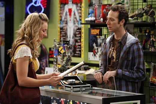 Penny and Stuart Flirt