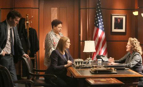 Brennan and Caroline Ask for a Warrant - Bones Season 10 Episode 18