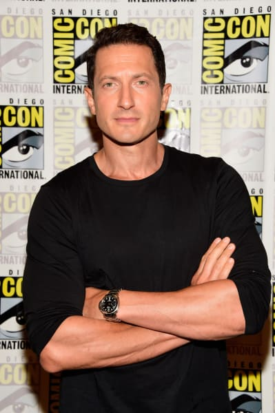Sasha Roiz at Comic-Con