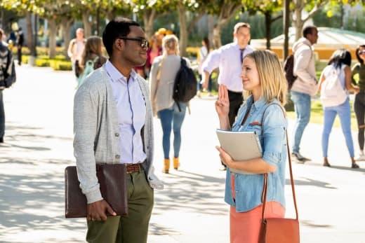 Eleanor and Chidi - Season 3 - The Good Place