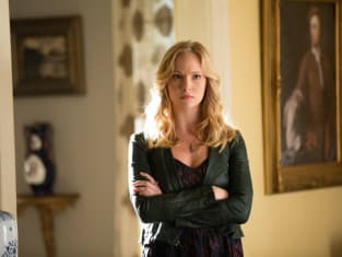 Angry Caroline Forbes
