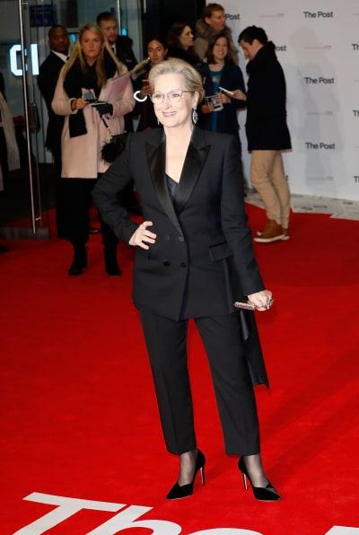Meryl Streep Attends Premiere