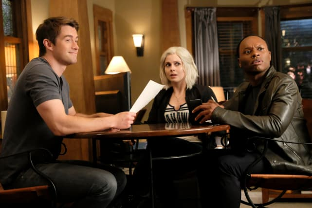 Catching CLiv Off Guard - iZombie Season 4 Episode 1