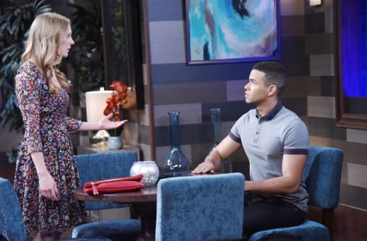 Asking For Theo's Help - Days of Our Lives