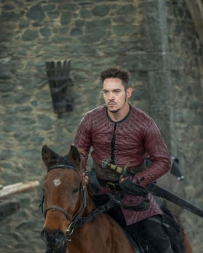 Heahmund - Vikings Season 5 Episode 12