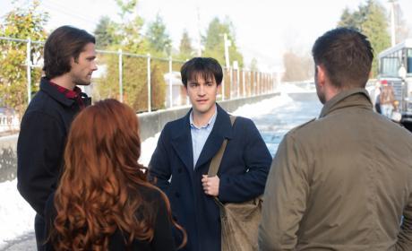 Gavin is cornered - Supernatural Season 12 Episode 13