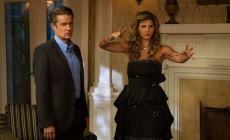 Charisma Carpenter and James Marsters on Supernatural