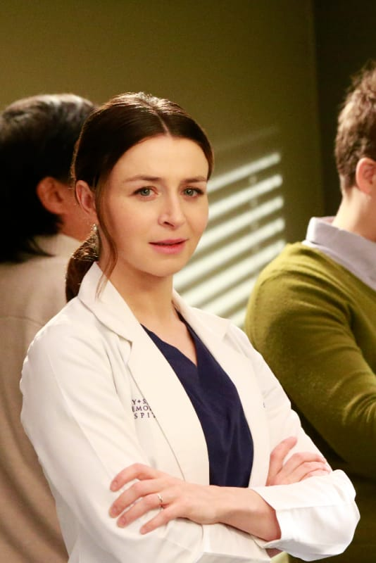 Rebellious Sister - Grey's Anatomy Season 13 Episode 21