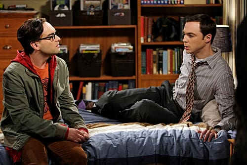 Leonad and Sheldon Discusss