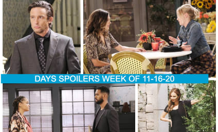 Days of Our Lives Spoilers Week of 11-16-20: The Latest Wedding Begins!