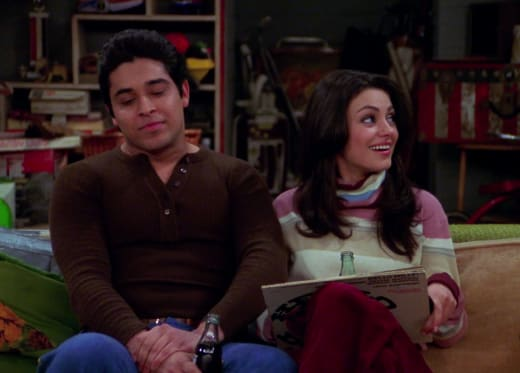Jackie and Fez