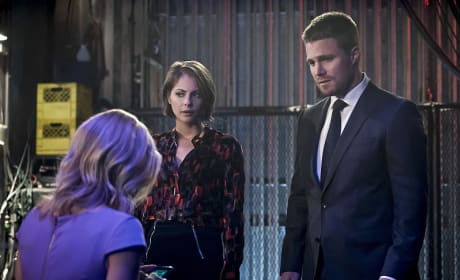 Sad - Arrow Season 4 Episode 14
