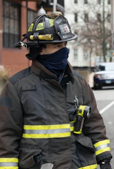 Gallo surprise - Chicago Fire Season 9 Episode 4