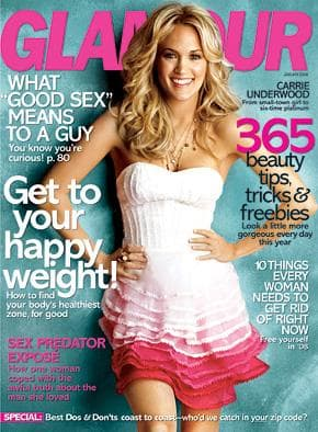 Glamour Cover Girl