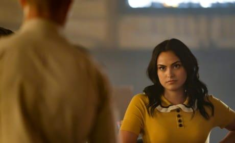 Veronica's Stare - Riverdale Season 3 Episode 3