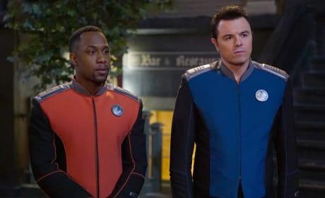 LaMarr and Mercer - The Orville Season 2 Episode 7