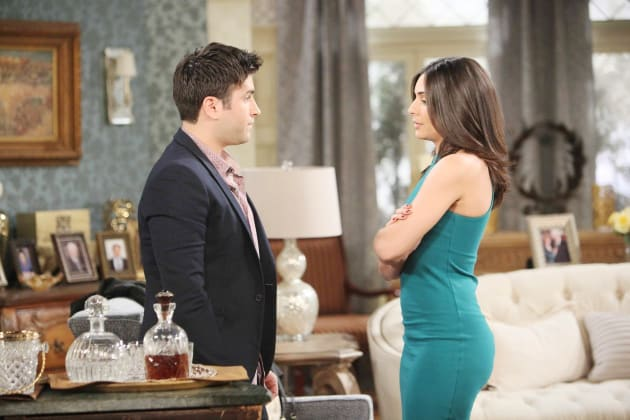 Gabi Confides in Sonny - Days of Our Lives