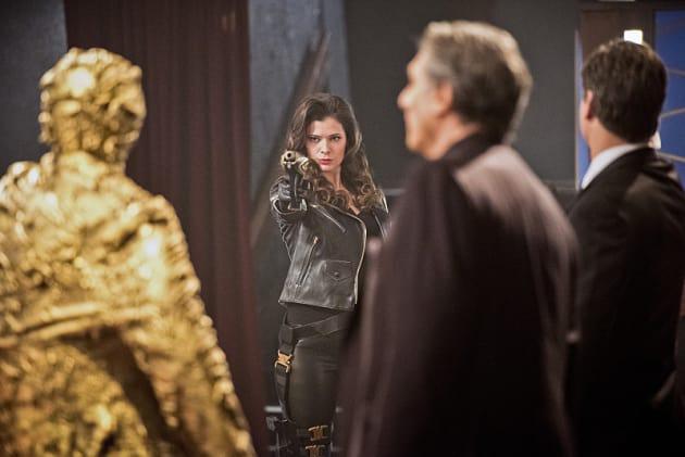 The Golden Glider - The Flash Season 1 Episode 16