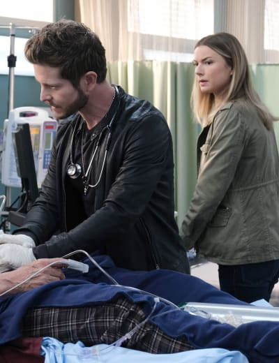 Day off Thwarted- Tall - The Resident Season 4 Episode 12