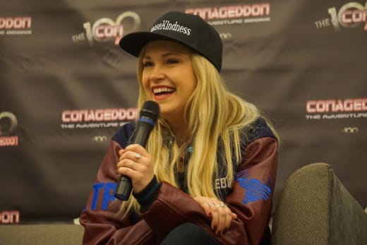 Eliza Taylor at Conageddon 2019 - The 100