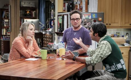 Coffee with the New Roommate - The Big Bang Theory Season 10 Episode 19