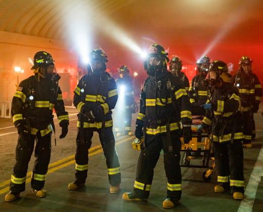 Tunnel Fire - 9-1-1